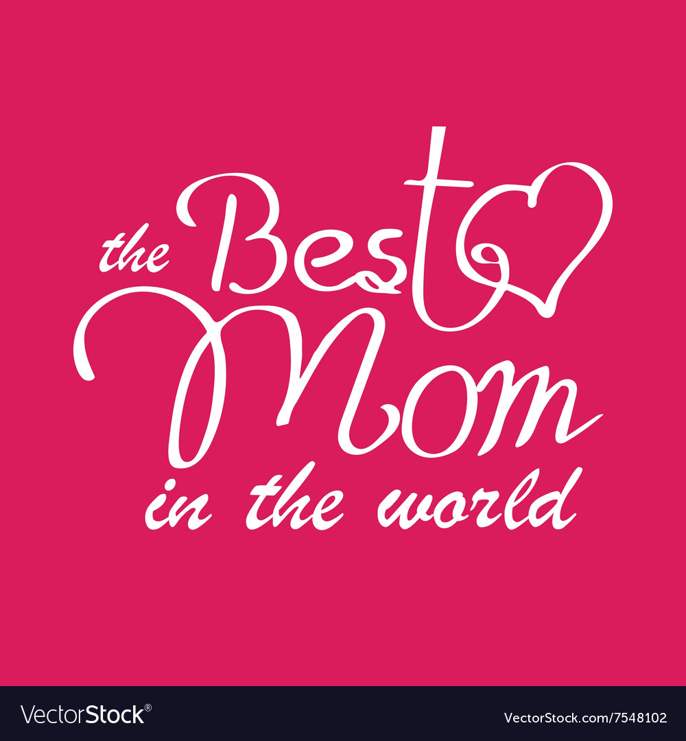 Happy Mothers Day Typographical