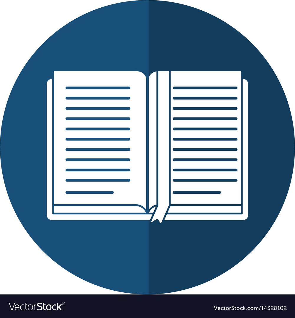 Open book school learning shadow