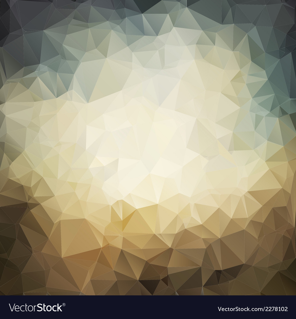 Polygonal grunge background
