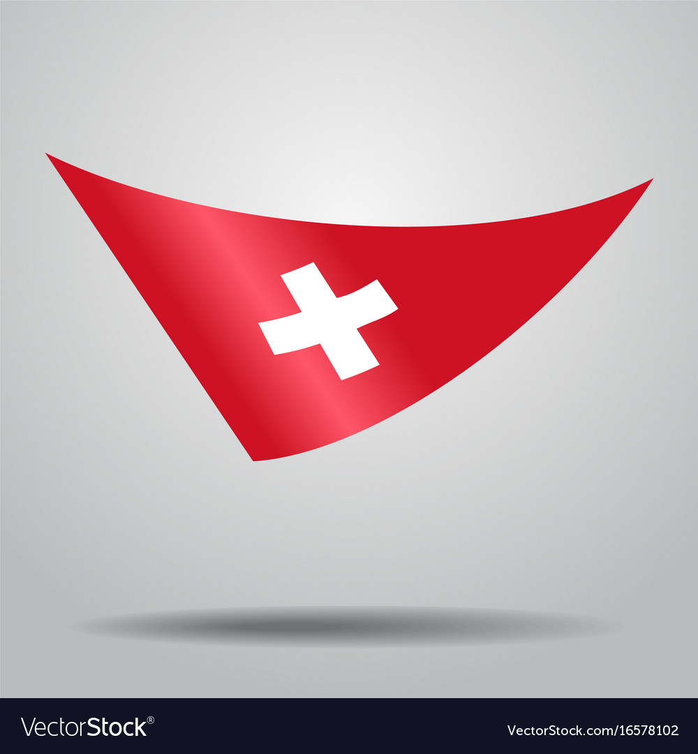 Swiss flag background