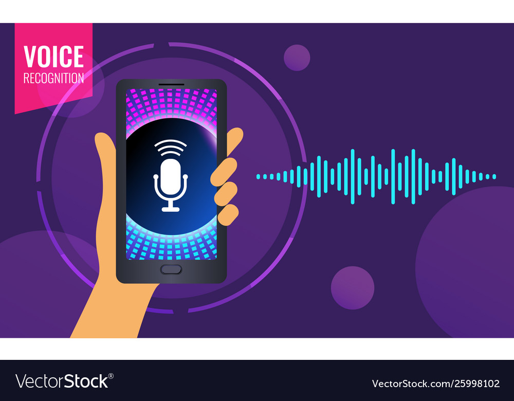 Voice recognition on mobile app personal