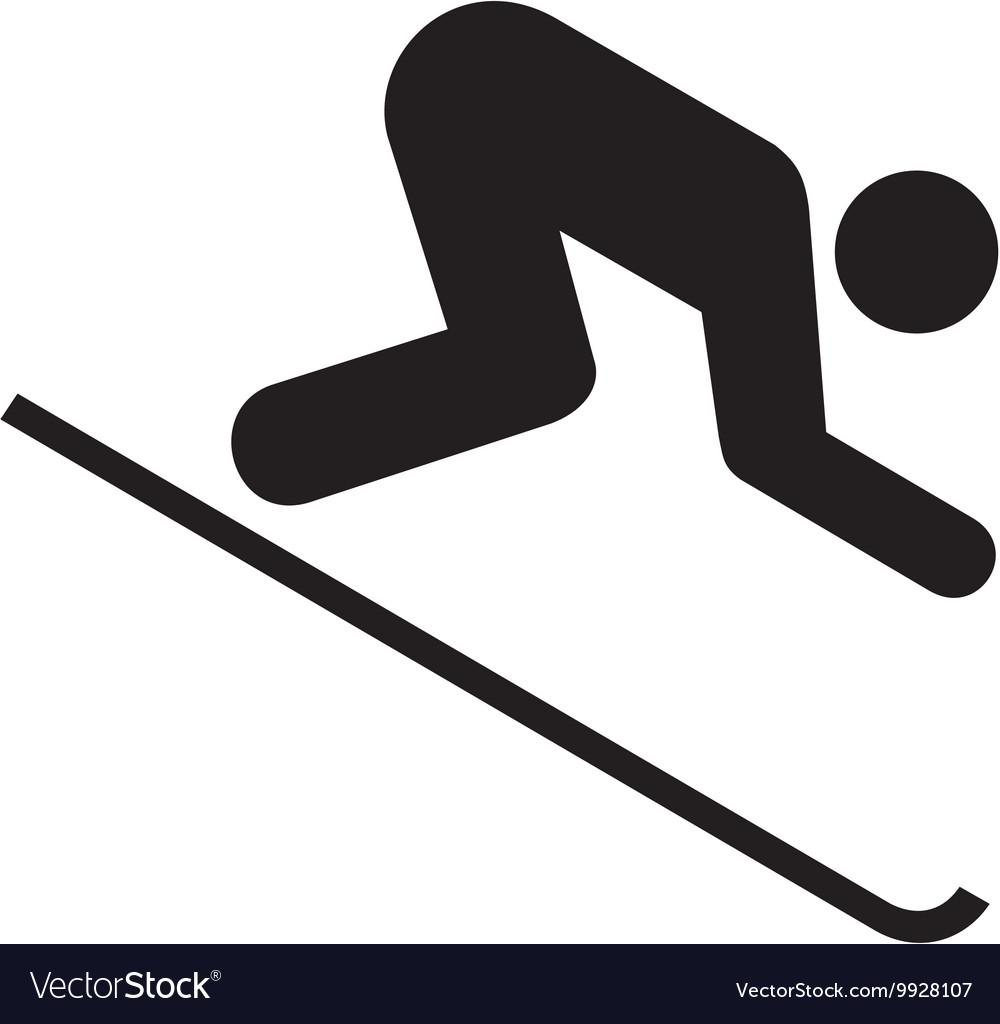 Downhill Skiing Symbol