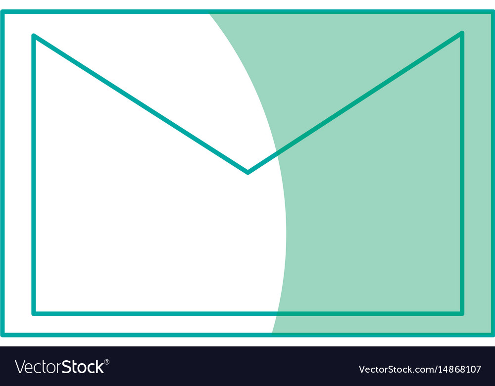Email envelope message communication letter