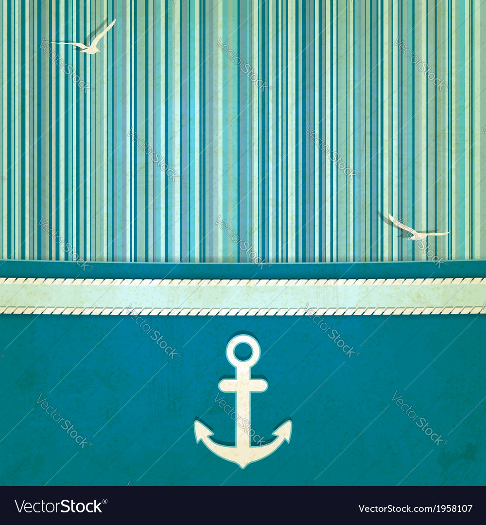 Marine striped old background