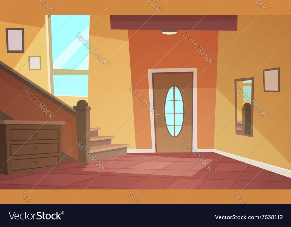 Cartoon Interior vector image