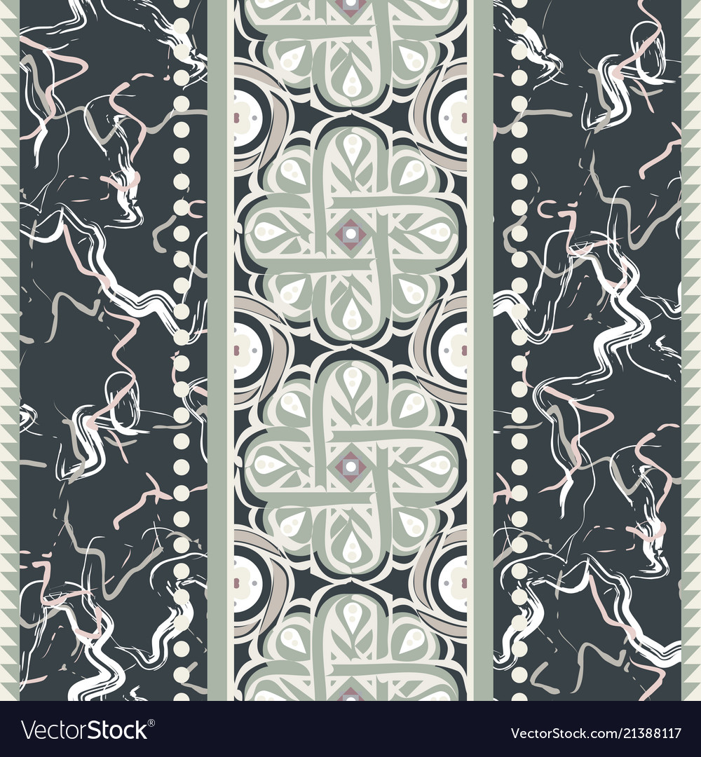 Vintage ceramic seamless design