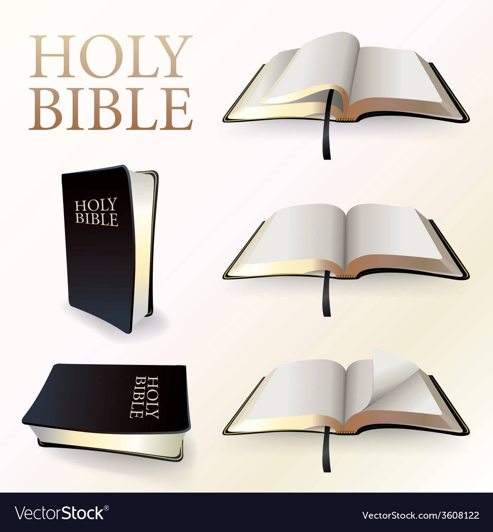Set of Holy Bibles