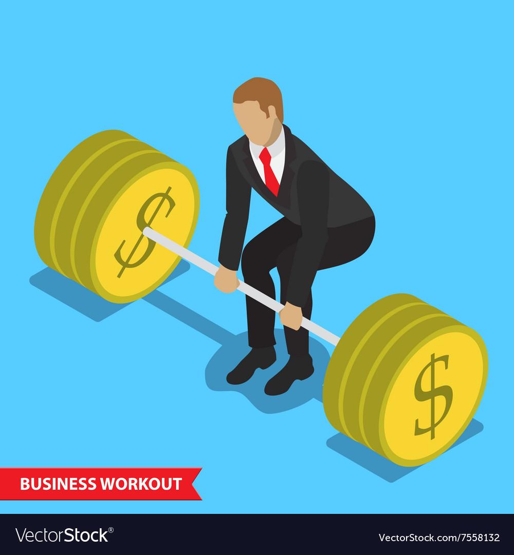 Business workout deadlift