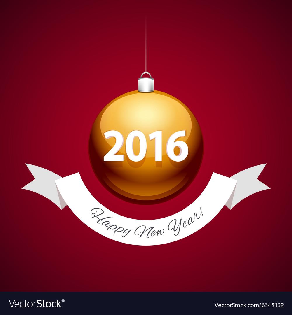 Golden Christmas Balls 2016