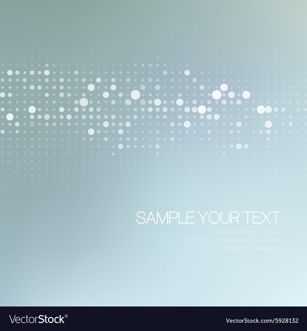 Modernistic abstract dot tech background