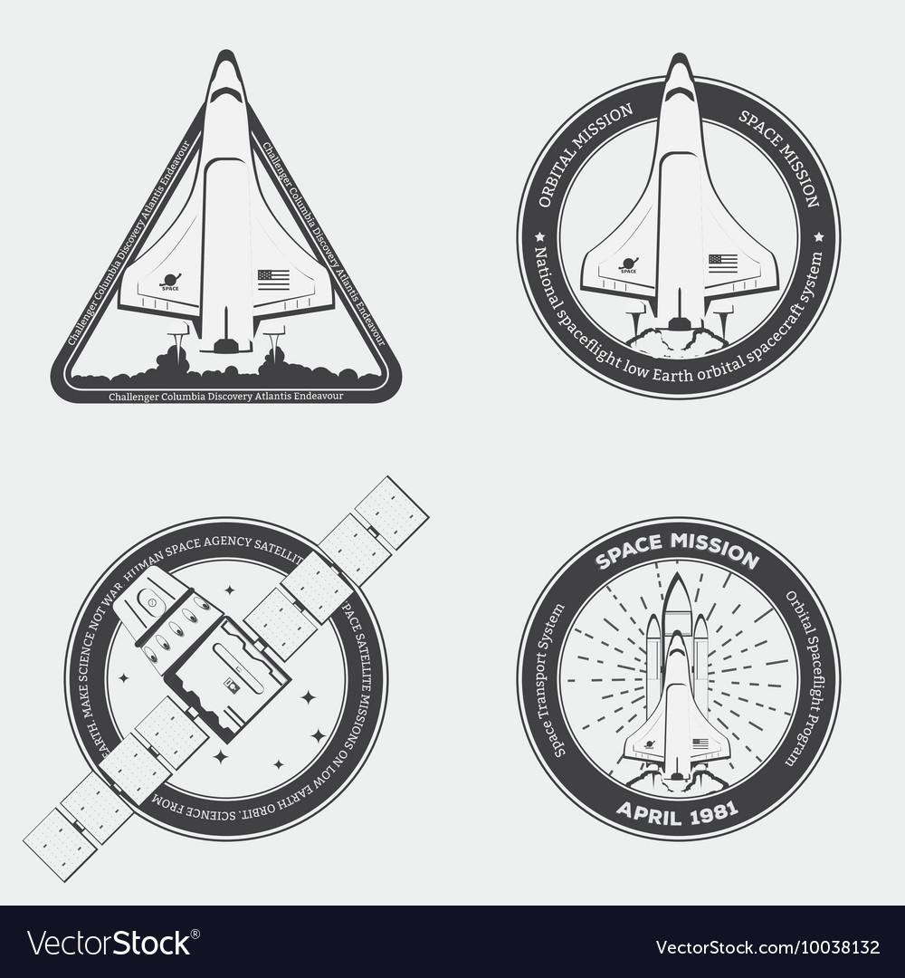 Rocket emblems