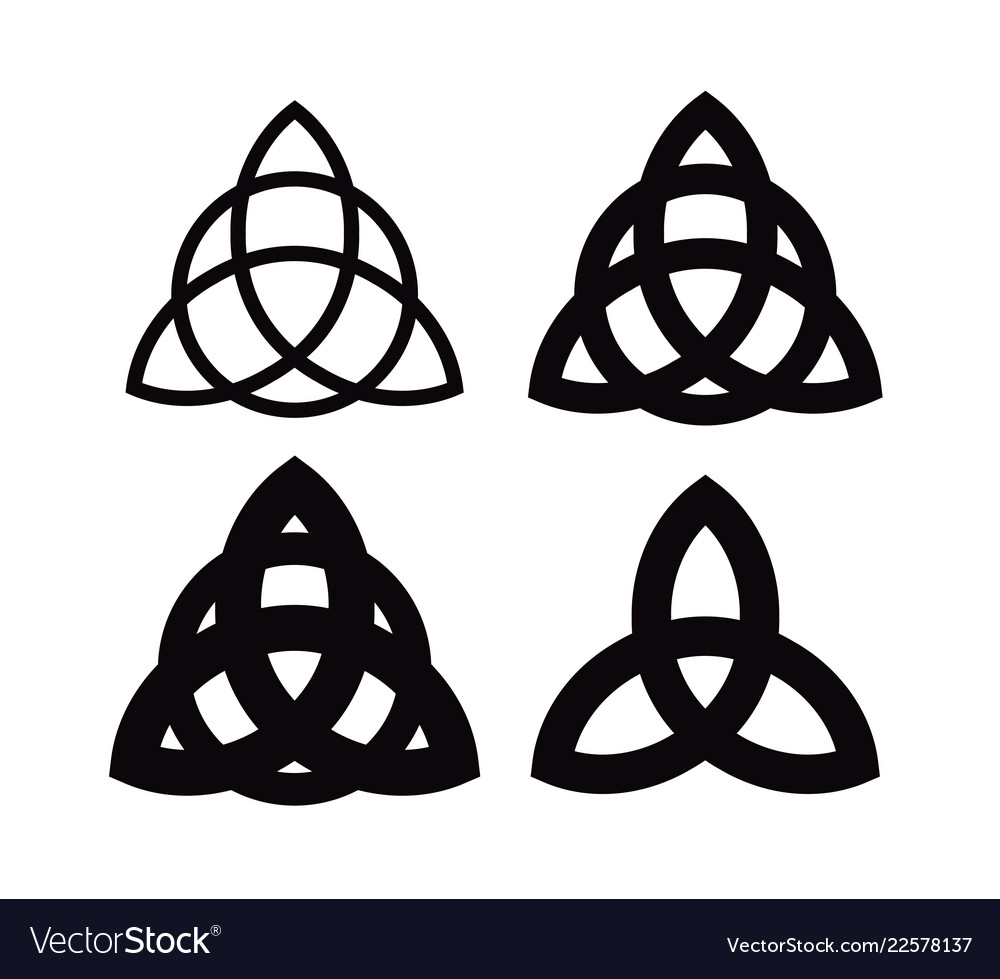 Triquetra - wiccan symbol from charmed celtic