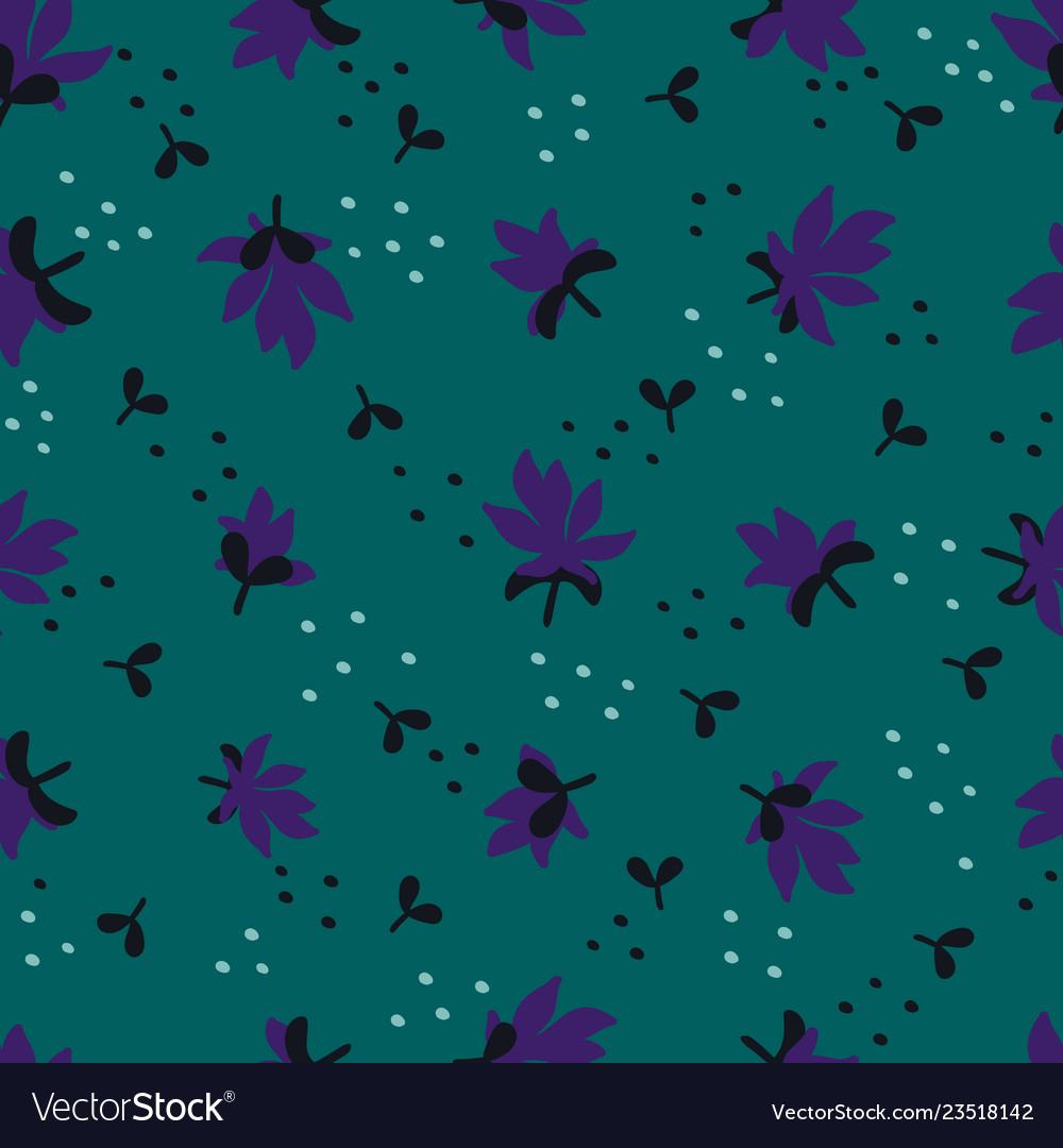 Seamless floral pattern fashion textile pattern