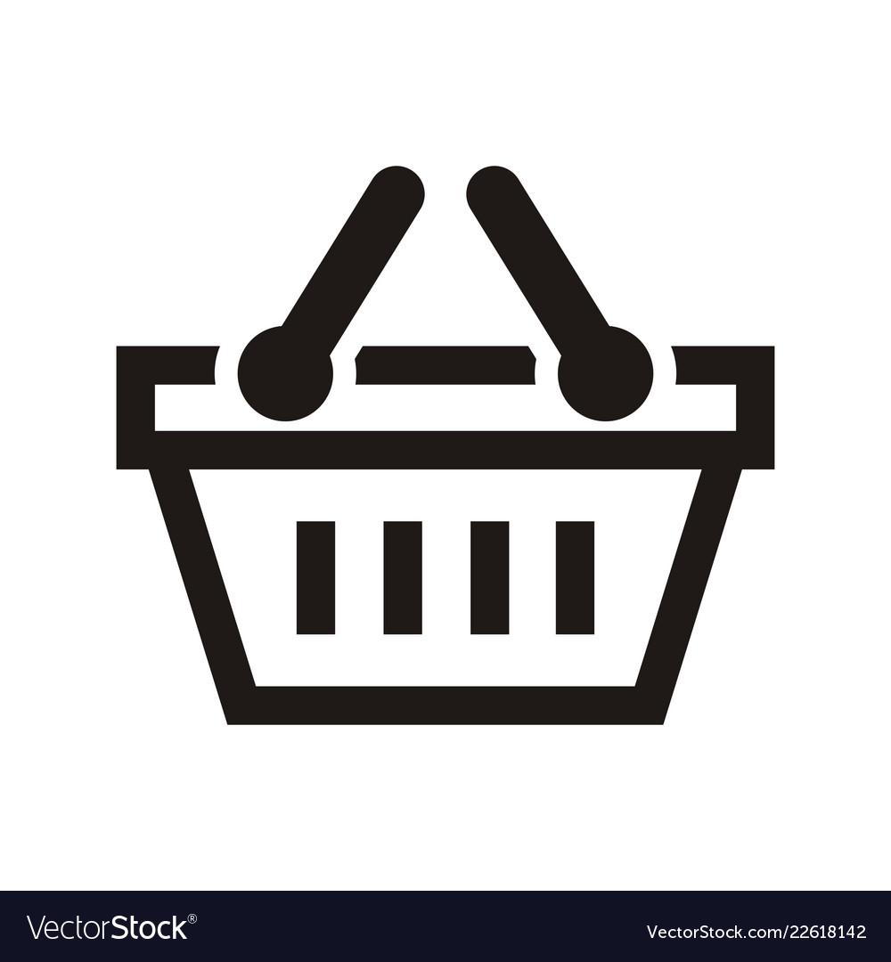 Shop basket logo