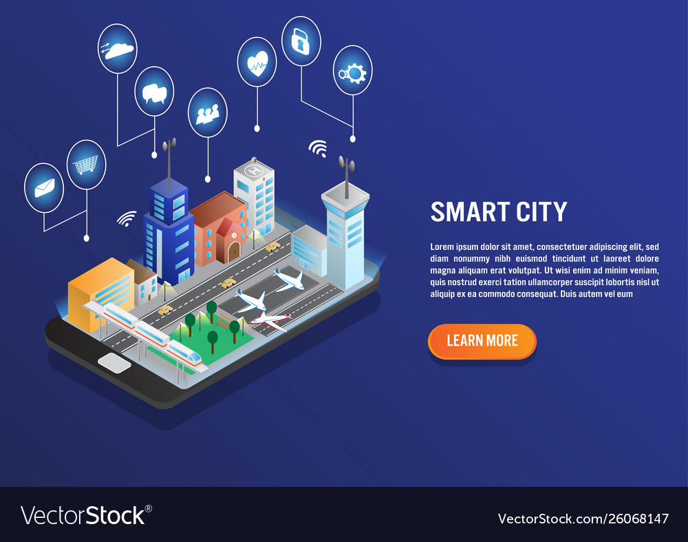 Smart city technology with smart service in