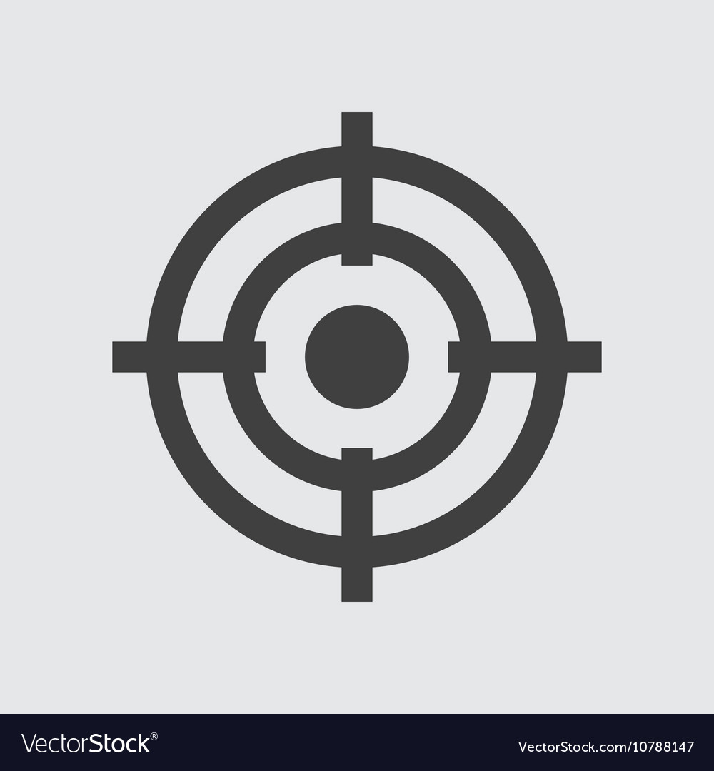 Target Icon Royalty Free Vector Image Vectorstock Pikbest has 209 target icon design images templates for free. vectorstock