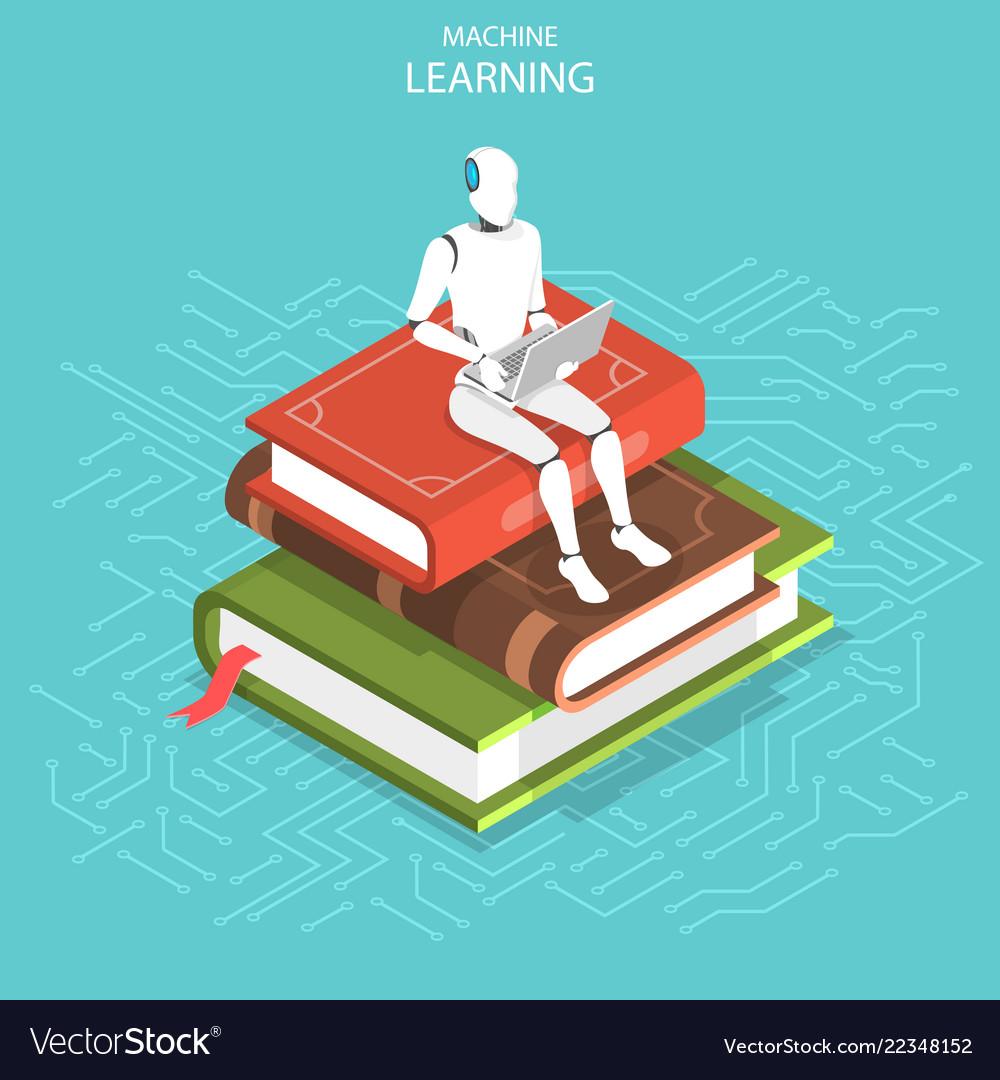 Machine learning isometric flat conceptual