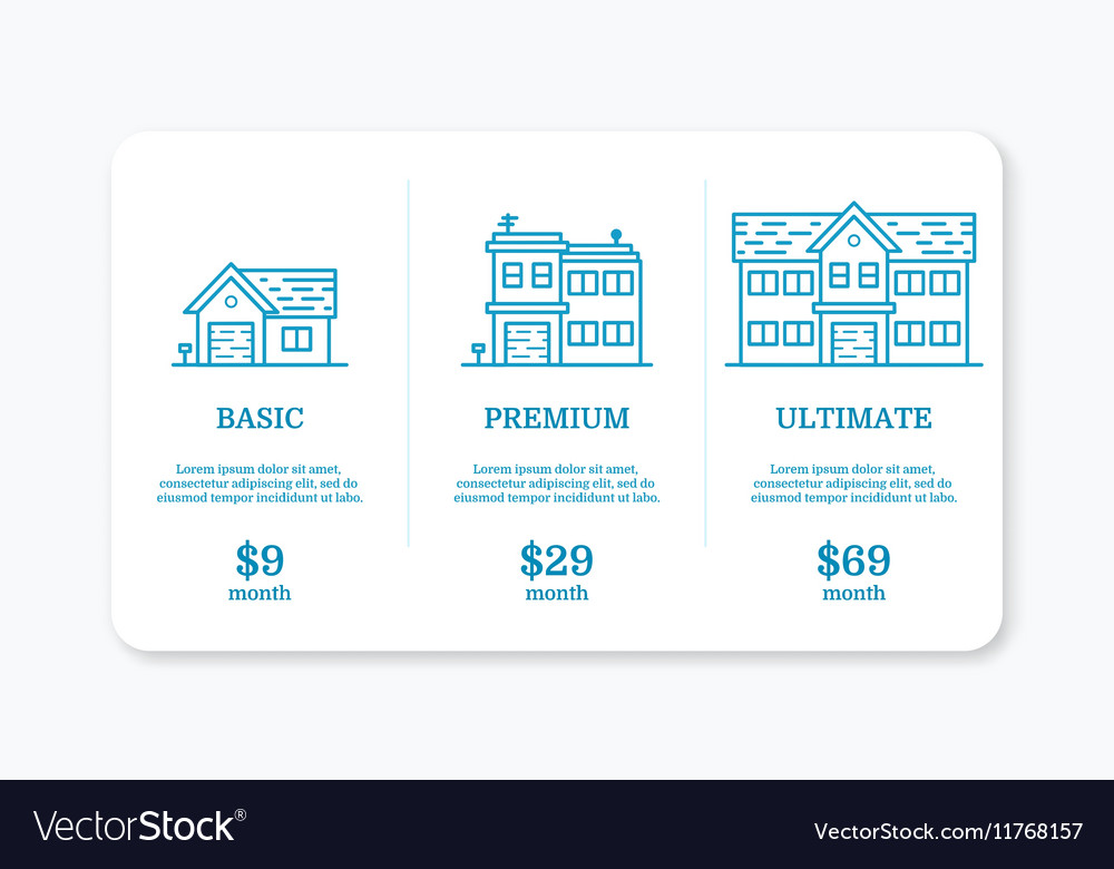 Pricing subscription plan