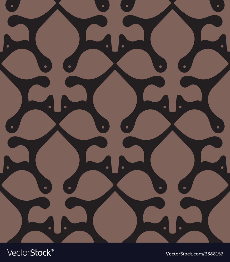 Victorian Seamless Floral Pattern