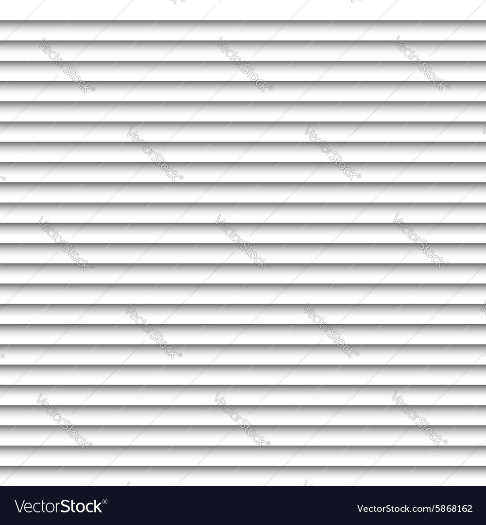 Horizontal white blinds design background window