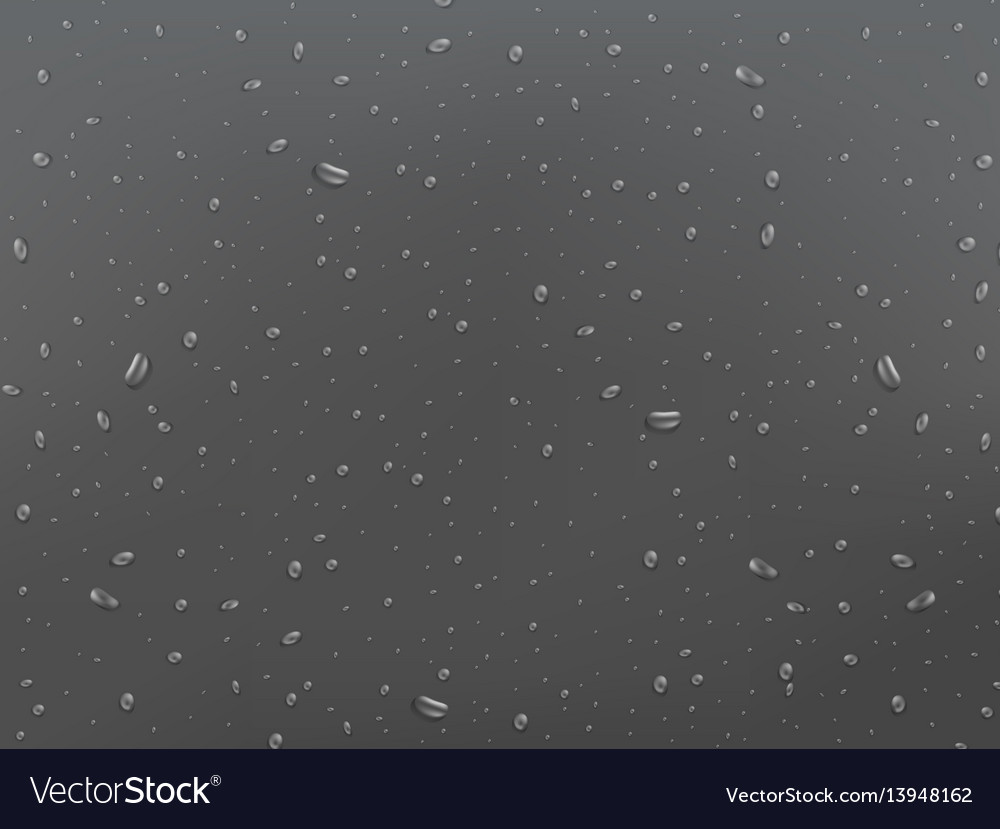 Wet glass background drops on the window rain