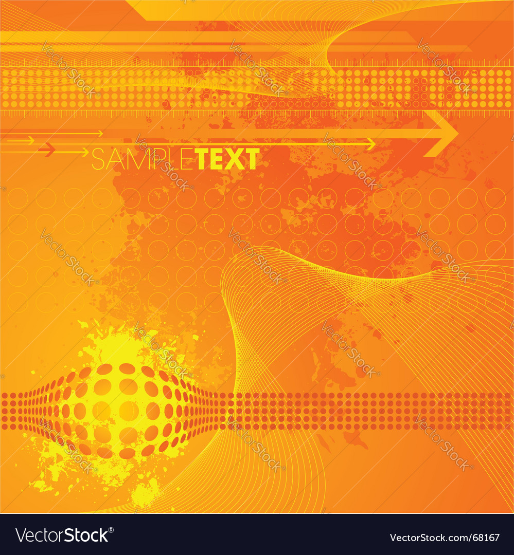 Modern high tech background vector image