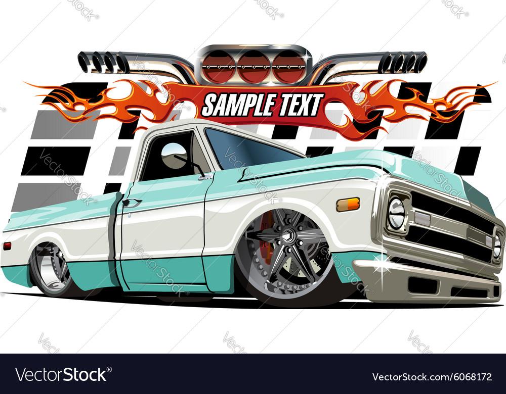Cartoon Lowrider vector image