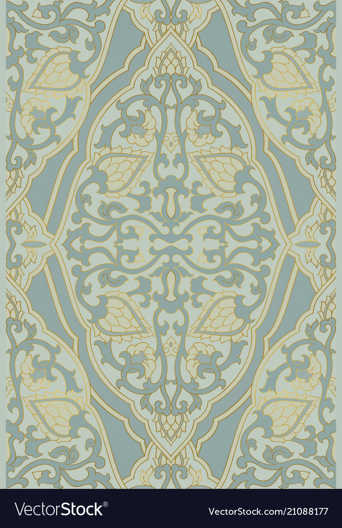 Oriental abstract pattern