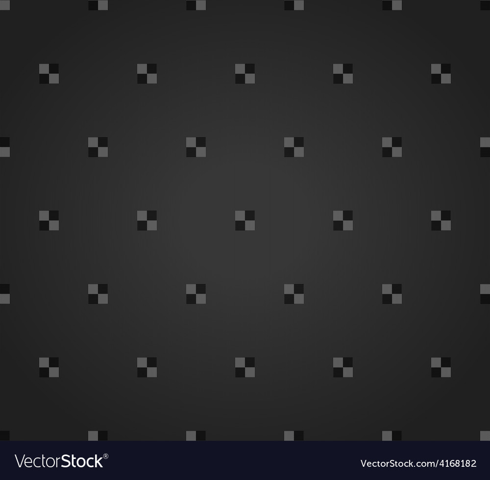 Abstract black geometrical seamless pattern vector image