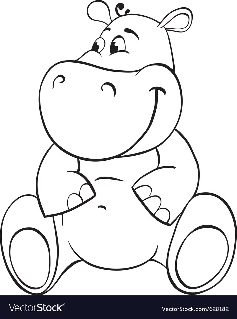 Hippo outline