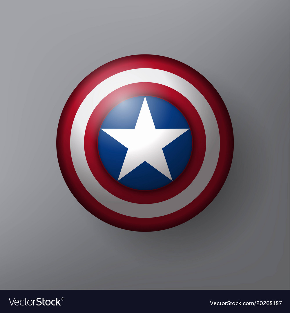 Shield with a star