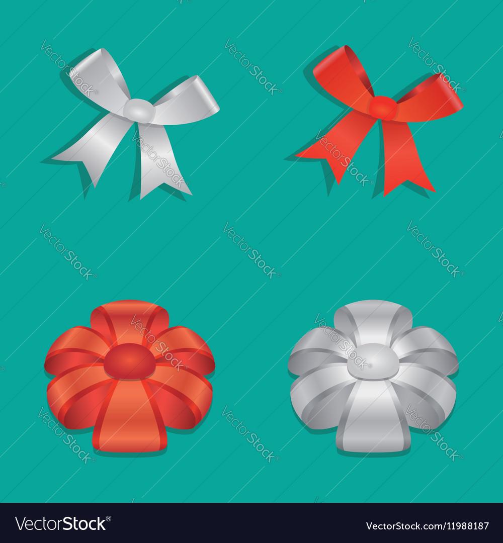 Shiny Ribbon Bow set