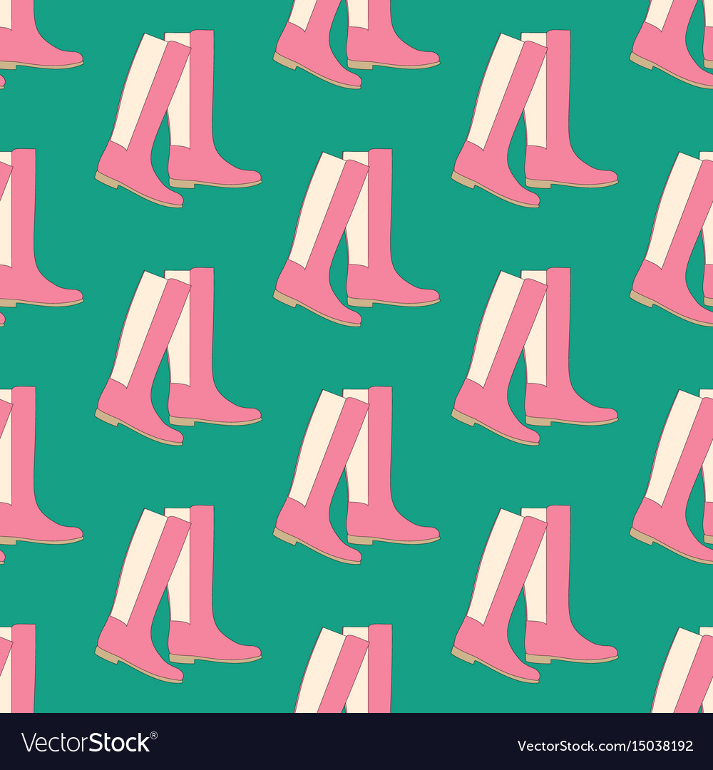 Boots shoes pattern