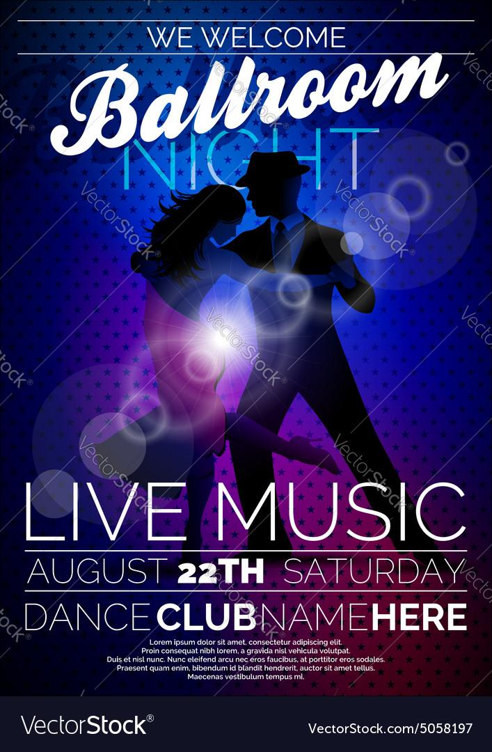 Ballroom Night Party Flyer design