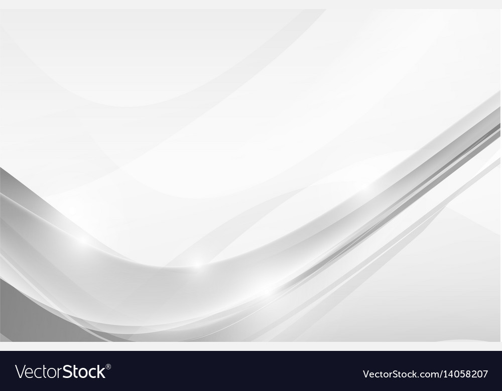 Abstract grey background with simply curve