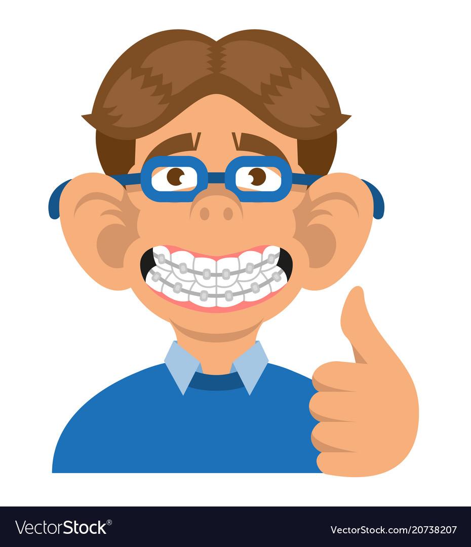 Boy show braces