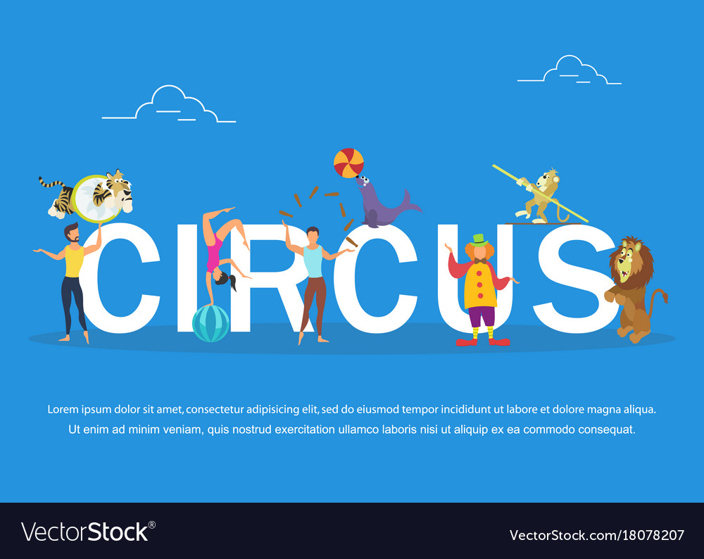 Circus performers and