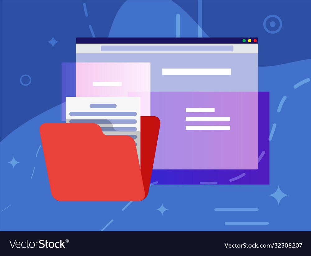 Operating system user interface documents folder