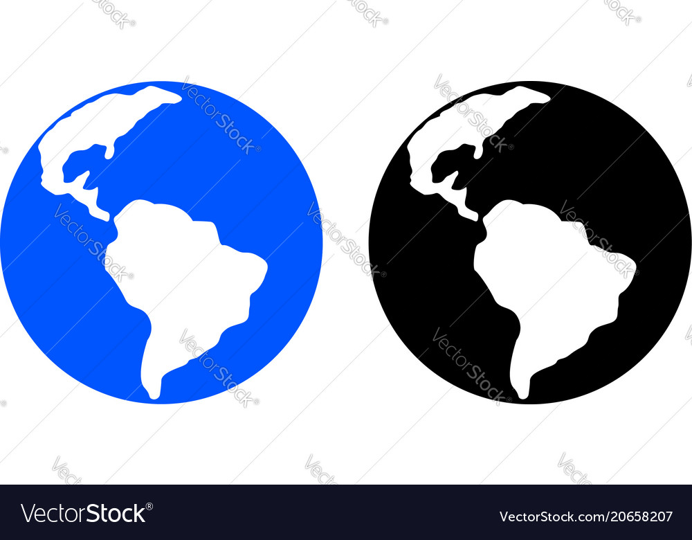 Planet glyph icon