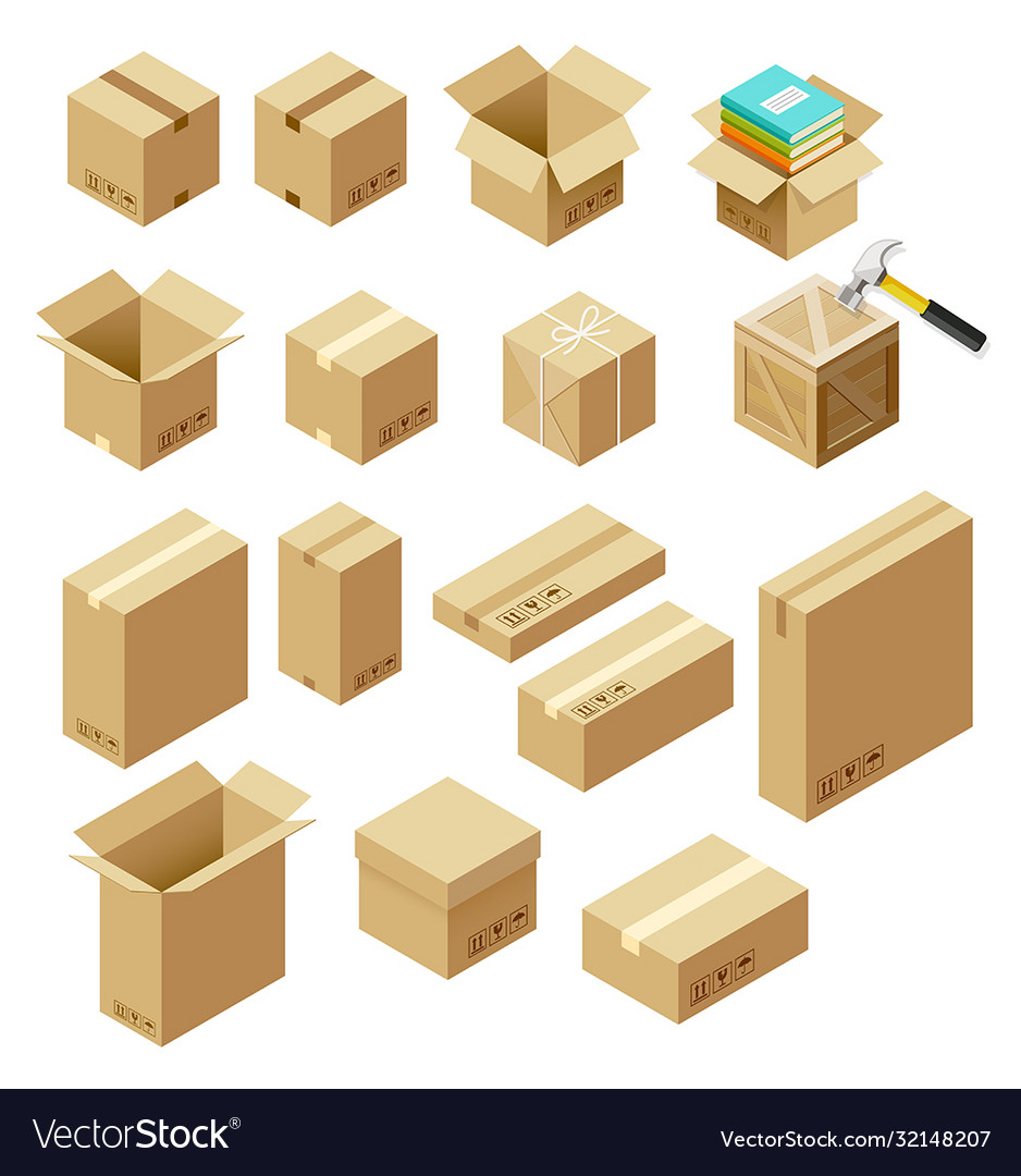 Set package isometric
