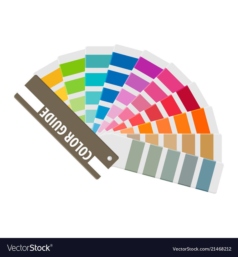 Color swatch rainbow tool for designer