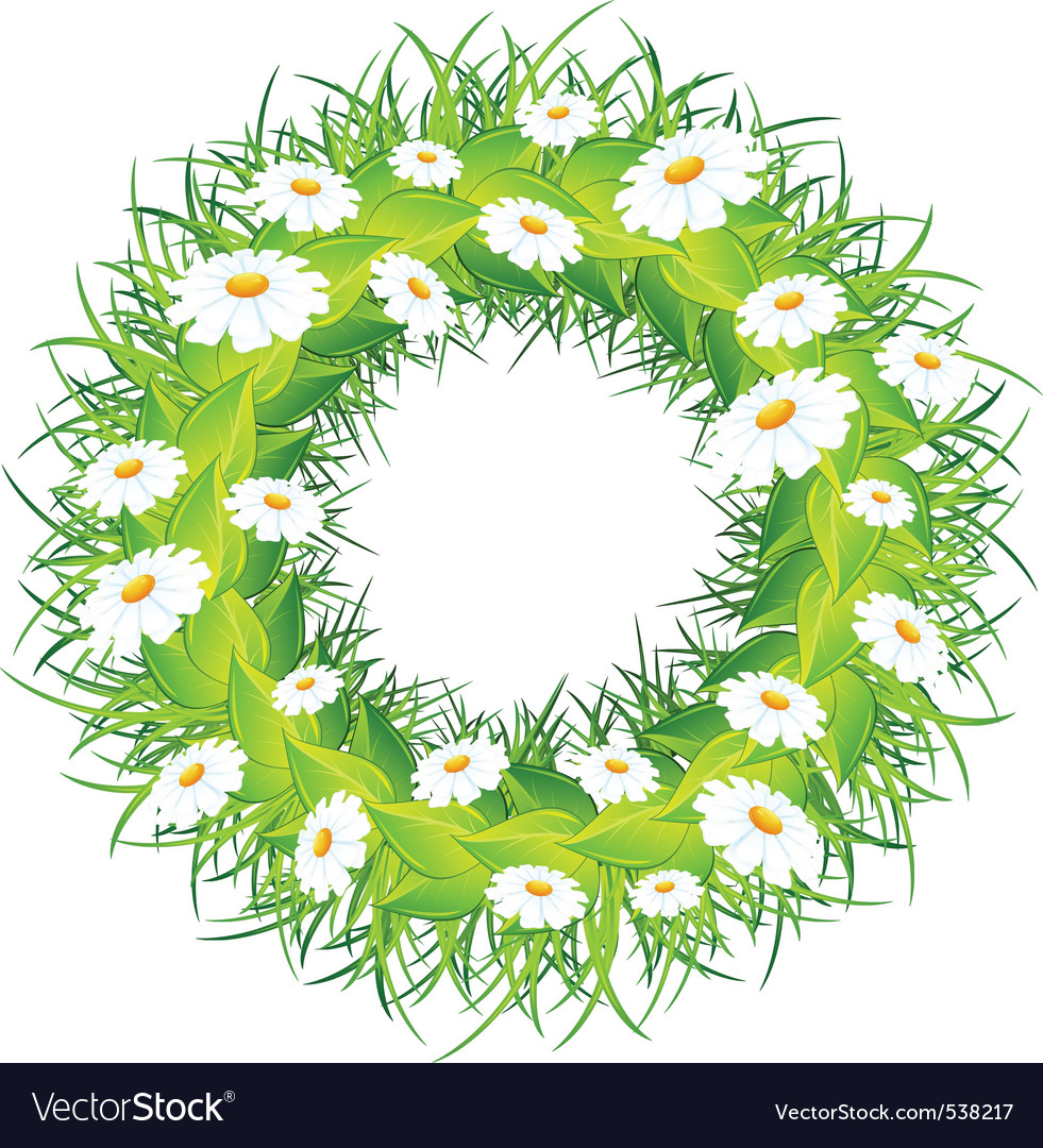 Wreath of flowers 36