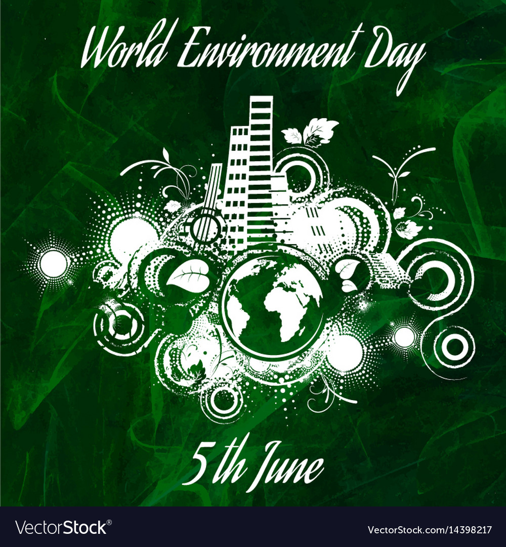 World environment day abstract background