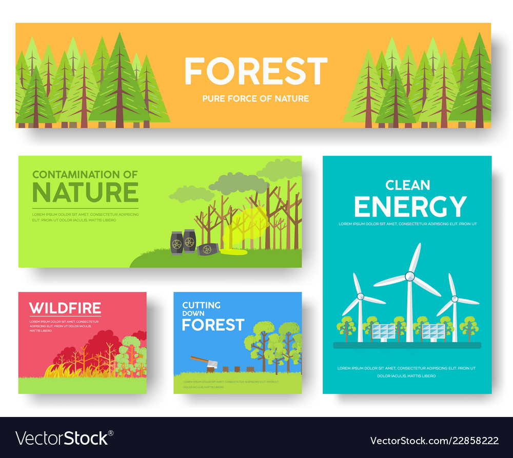 picture about Information Cards Template known as Ecology written content playing cards established ecological template