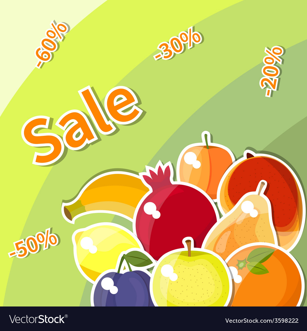 Fruit sale