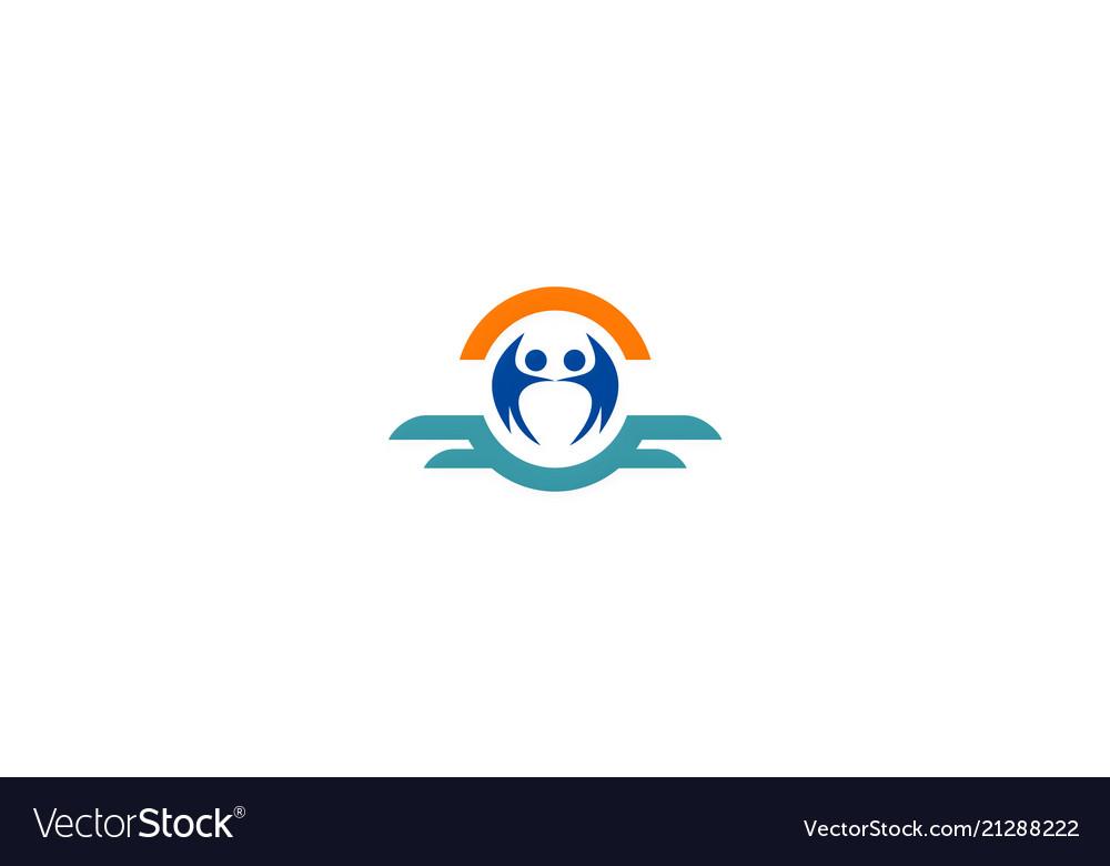 Partner people company logo