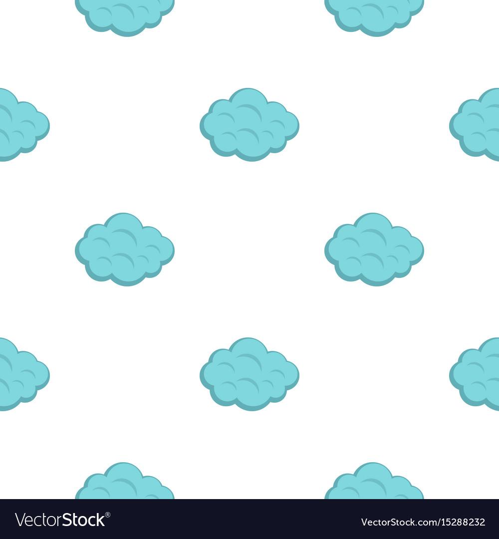 Summer cloud pattern flat