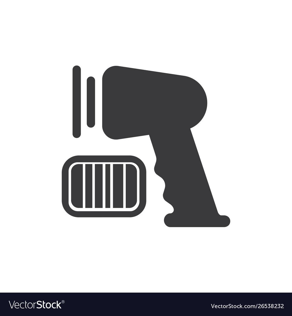 Supermarket scanner icon