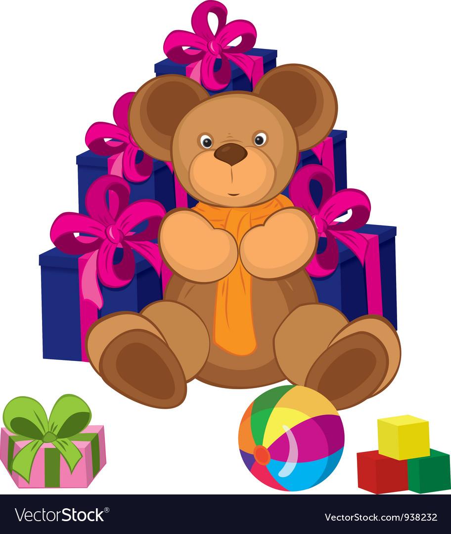 Teddy bear toy