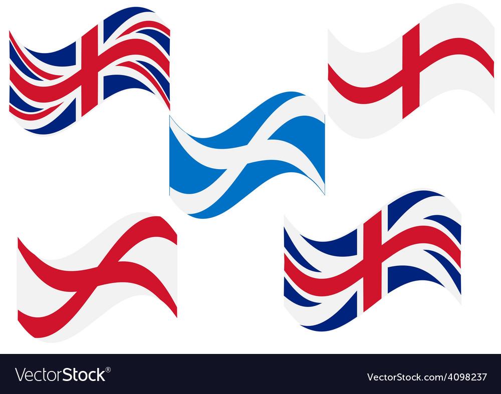 Flag england scotland